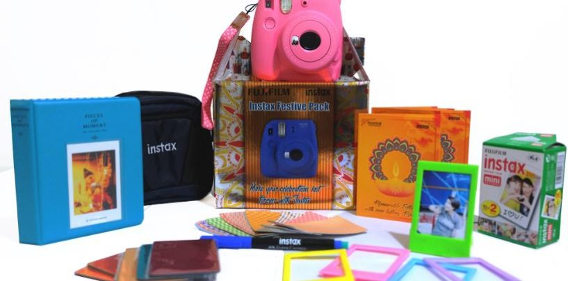 Fujifilm India launches the all new Instax festive pack and trendy new films