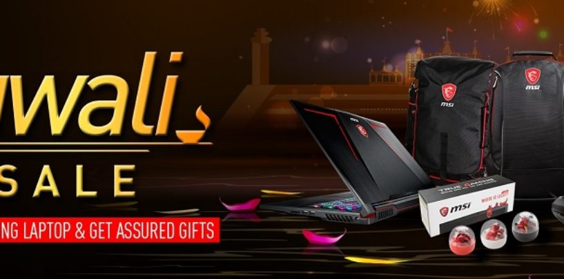 Feel the Thrill of Heavy Duty Gaming this Festive Season with MSI – Diwali Sale