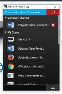 Polycom Pano Review: Pano App