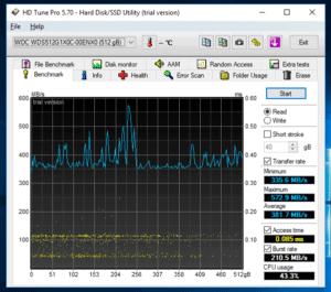 WD Black HD Tune Pro_Read