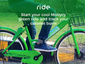 Mobycy Successfully Introduces India's First Dockless Bicycle Sharing App