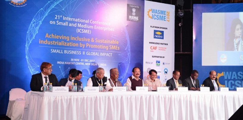 SMEs Must Be on Primary Development Agenda of National Governments Says Vice President Naidu