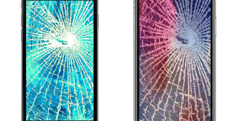 How much does it cost to repair the screen of iPhone 8 Plus and iPhone X?
