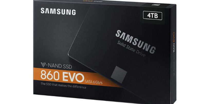 Samsung Launched Solid State Drives 860 PRO and 860 EVO
