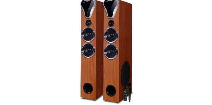 Truvison Introduces Bluetooth Tower speaker TV-555BT