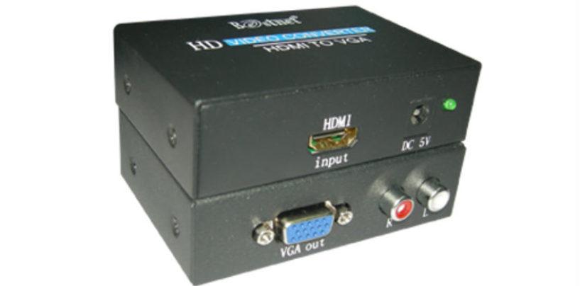Eurotech Technologies Introduces HDMI to VGA Converter