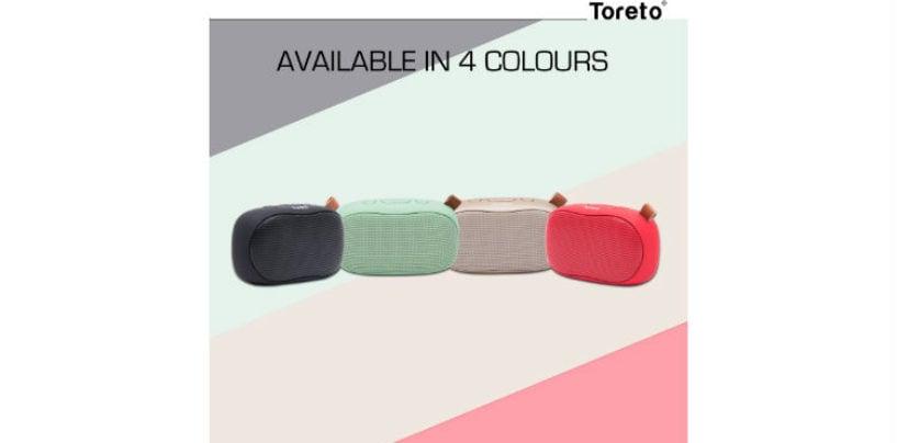 "Toreto Launches ""Bang"" TOR-307 – Compact Pocketsize Bluetooth Speaker"