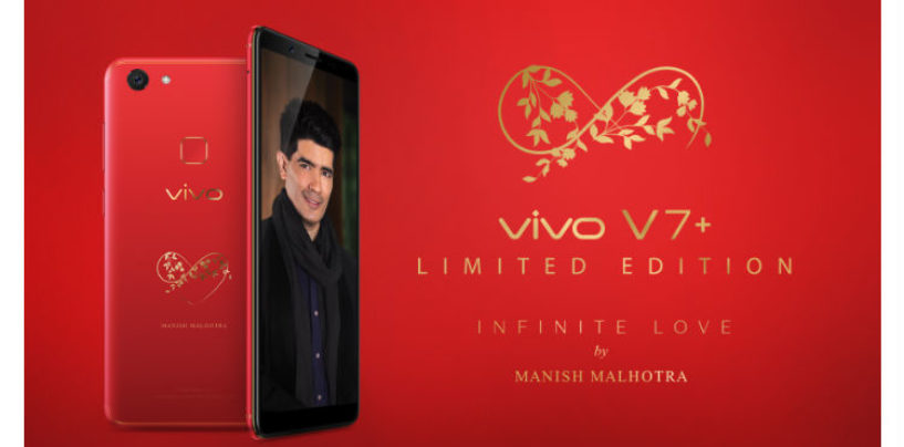 Vivo Introduces The Limited Edition Infinite Red V7+, this Valentines' Day