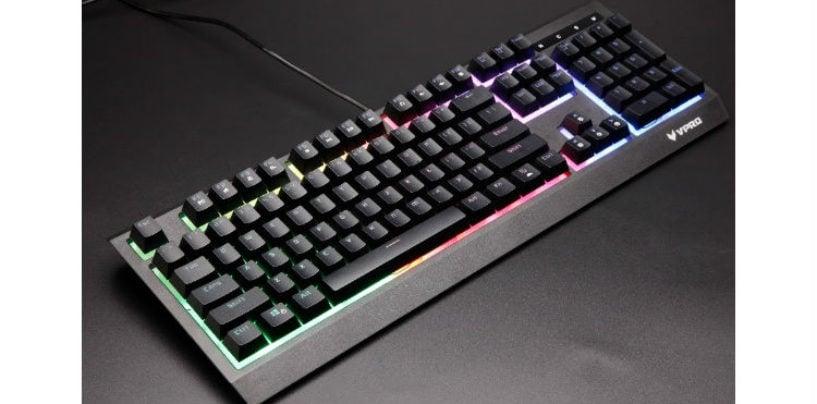 Rapoo unveils the VPRO V52S Backlit Gaming Keyboard
