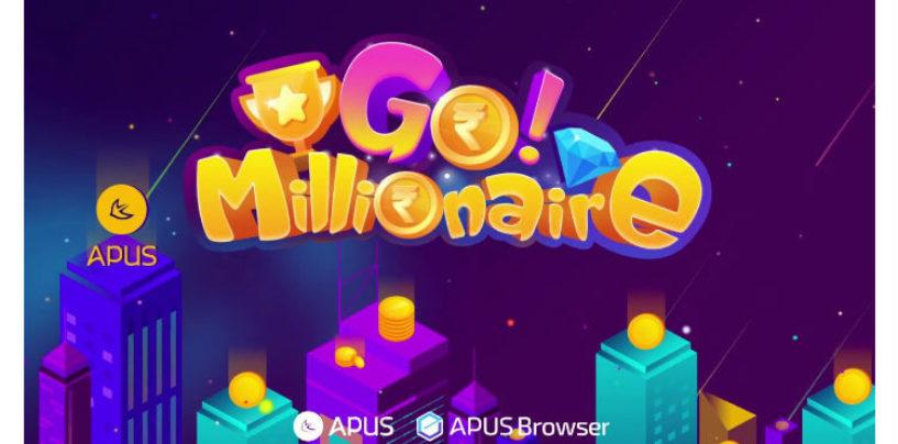 """APUS Introduces its LIVE Quiz Mobile Game """"Go Millionaire"""""""