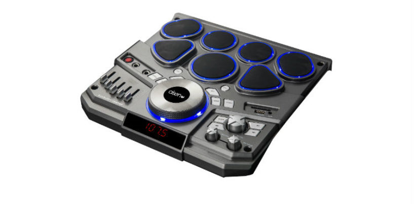Aisen Introduces Trolley DJ Tower Speaker with Electronic Drum Pads A20UKB830
