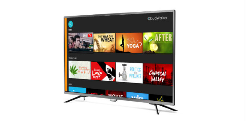 "CloudWalker Introduces New Variants of Cloud TV X2 in 40"" & 43"""
