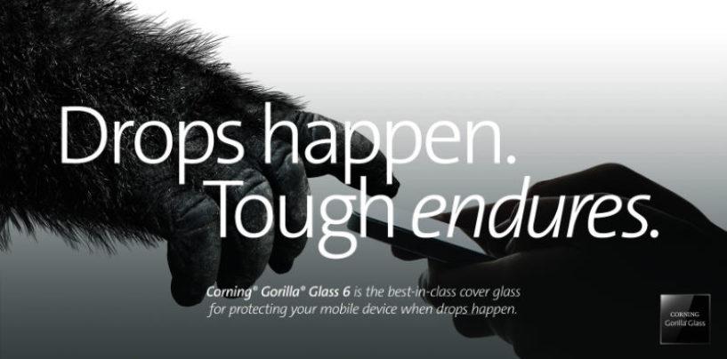 Corning Introduces Corning Gorilla Glass 6