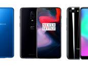 Samsung A7 vs OnePlus 6 vs Honor 10: A Comparison