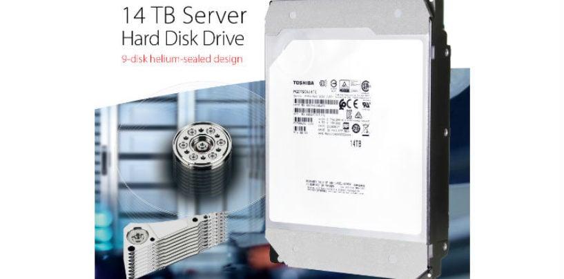 TOSHIBA Gives More Capacity To SAS HDD MODELS