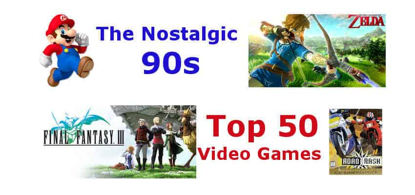 50 Most Popular 90s Video Games Pcquest