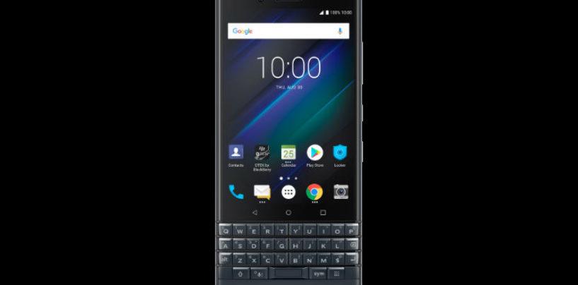 Blackberry Introduces Blackberry Key2 LE