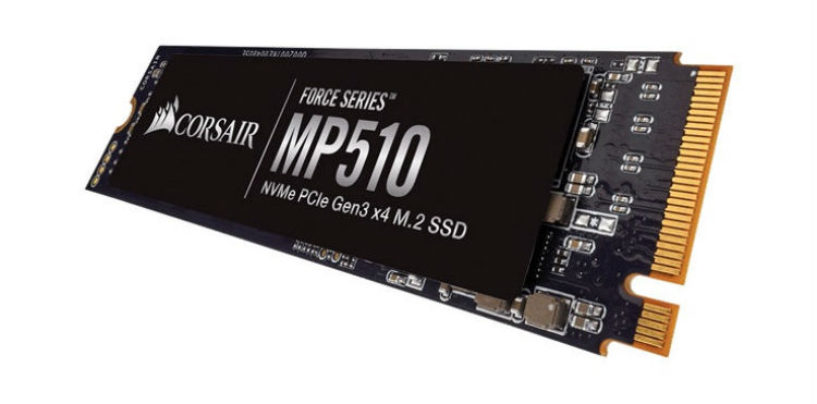CORSAIR Introduces Force Series MP510 M.2 PCIe NMVe SSD