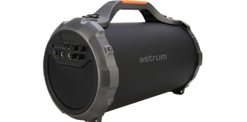 Astrum Introduces Barrel Speaker ST400 paired with Mic