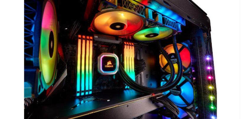 CORSAIR Launches New Hydro Series H100i and H115i RGB PLATINUM Liquid CPU Coolers