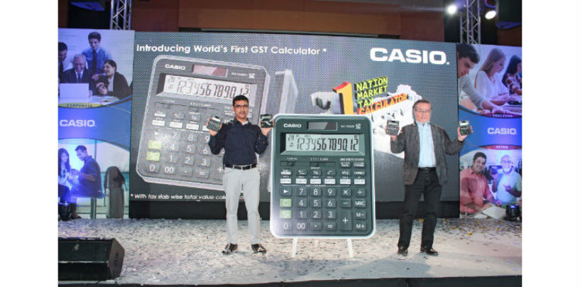 Casio India Presents the World's First GST Calculator