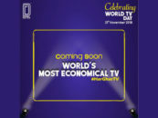 Detel teases the launch of  World's most economical TV