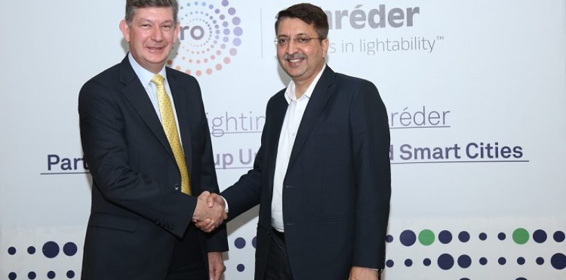 Wipro Lighting and Schréder Partner to Light up Urban India and Smart Cities
