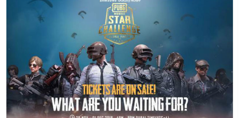 PUBG MOBILE STAR CHALLENGE (PMSC) Global Finals taking place in Dubai from November 29- December 1