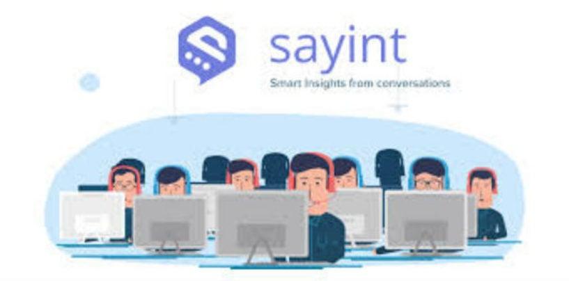 Sayint: Say It With Sayint
