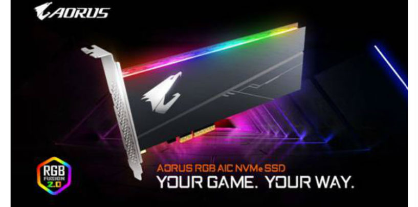 GIGABYTE Upgrades SSD Lineup With AORUS RGB Series