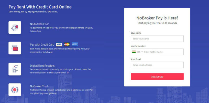 NoBroker Introduces 'NoBroker Pay' Feature for Rent Payment