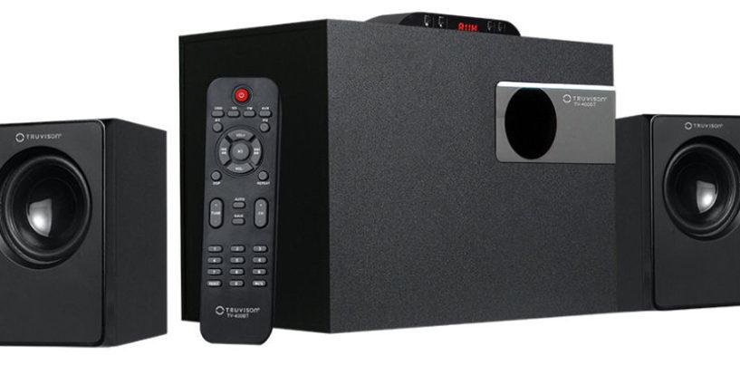 Truvison Introduces BIG SOUND with 2.1 Speaker – 400BT