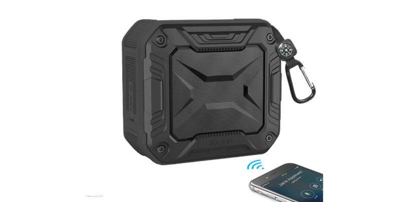 "ZAAP launches ""Aqua Boom"" Bluetooth Speaker with 360-Degree Surround Sound"