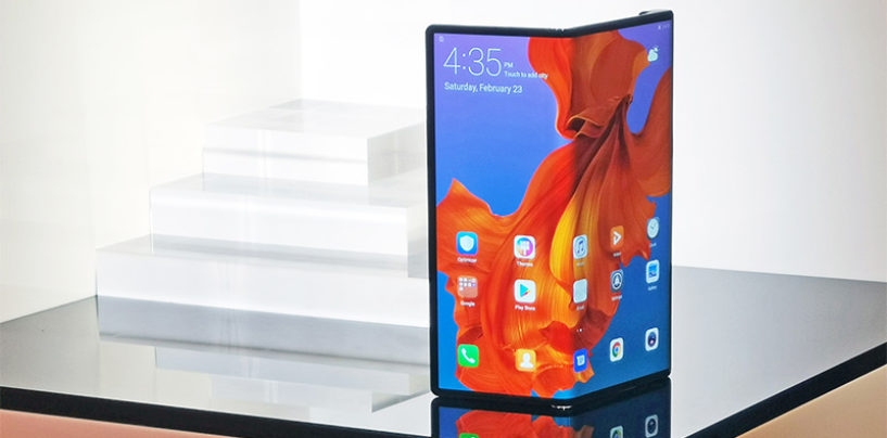 Huawei Mate X 'foldable smartphone' launched at MWC 2019