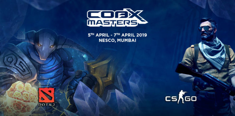 Mumbai to hosts India's Largest Multi-title International E-sports Tournament; prize pool of Rs 1.4CR.