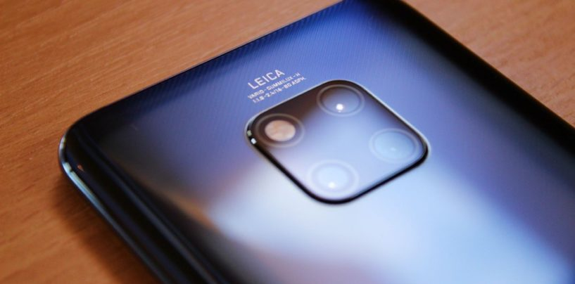 Huawei Mate20 Pro receives new software update
