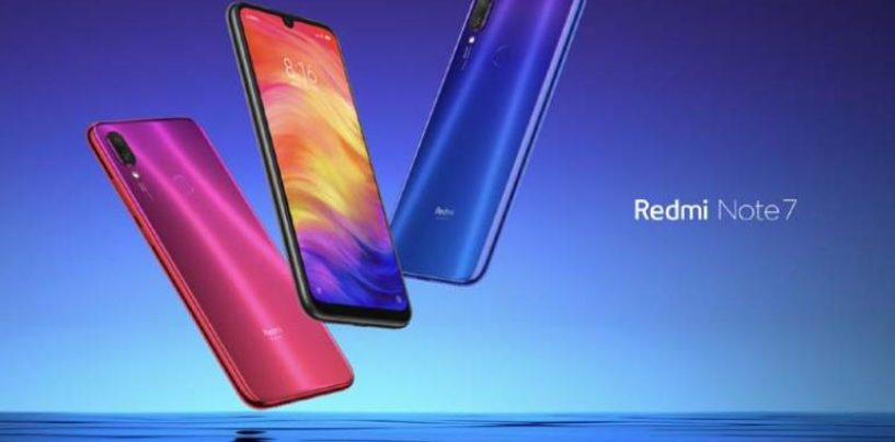 All you need to know more about Redmi Note 7