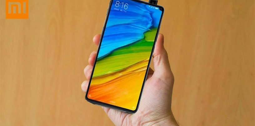 Xiaomi working on pop-up camera phone