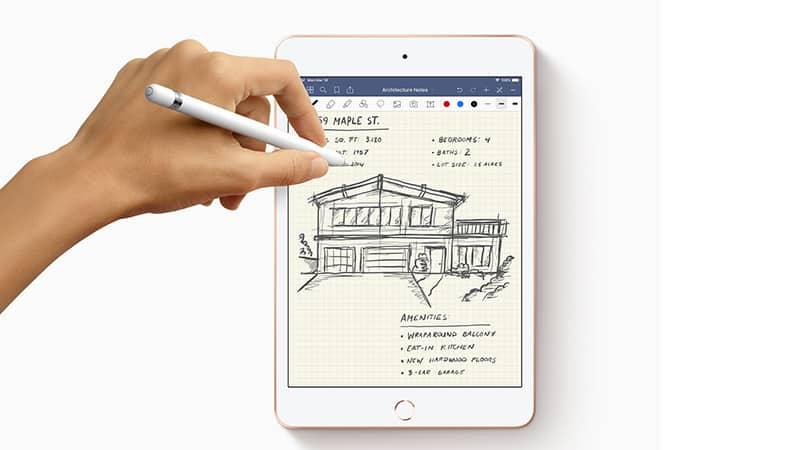 apple ipad air drawing