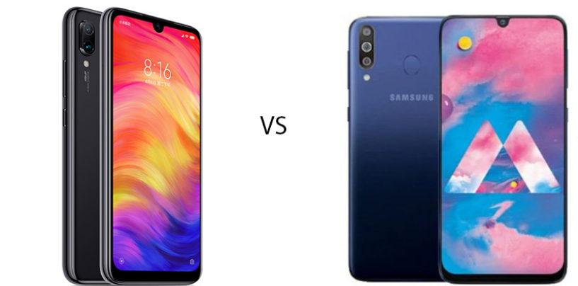 Xiaomi Redmi Note 7 Pro vs Samsung Galaxy M30