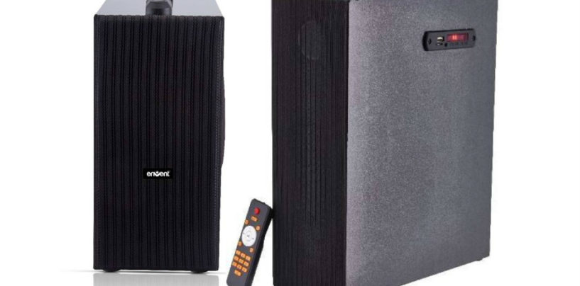 Envent Launches New Range of Mini Tower Speakers in India