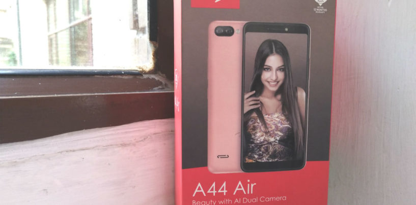 itel A44 Air: Unboxing & First Look
