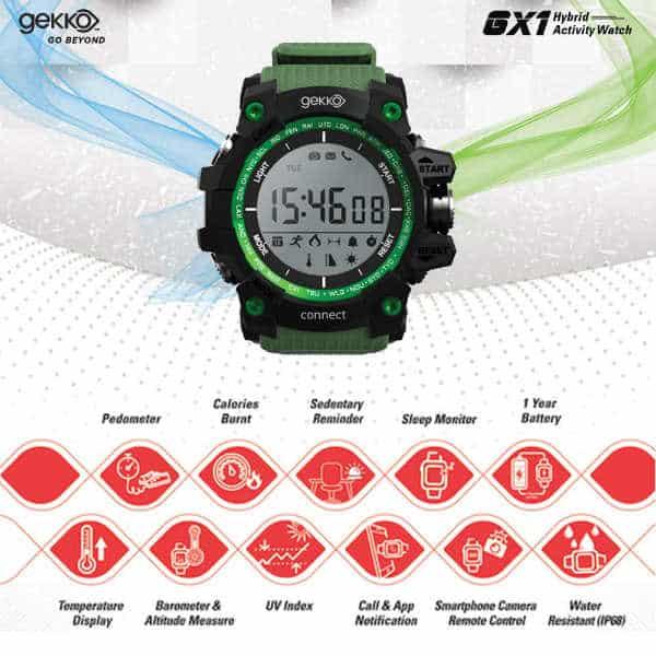 Gekko GX1 Review - Hybrid Smartwatch 2