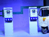 Panasonic launches its kind EV charging service for India
