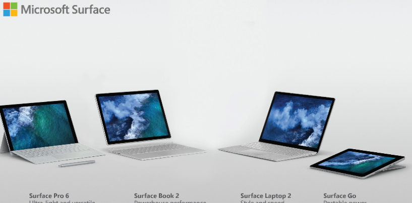 Microsoft Surface: Now Available easy to own with EMIs