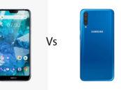 Nokia 7.1 vs Galaxy A50: Comparison