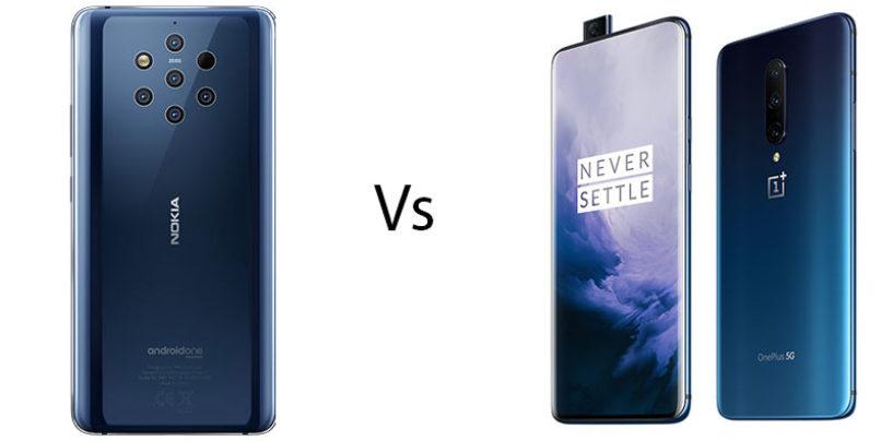 Nokia 9 PureView vs OnePlus 7 Pro