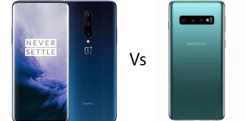 OnePlus 7 Pro vs Samsung Galaxy S10