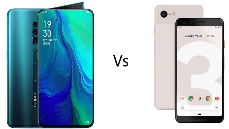 Oppo Reno 10X Zoom vs Google Pixel 3XL: Price, specs