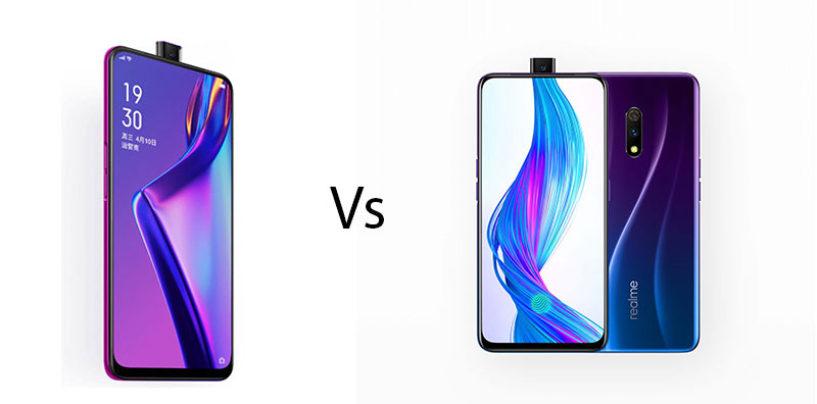 Oppo K3 vs Realme X: Comparison